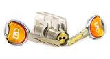 透明超B级叶片锁练功锁芯